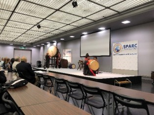 The opening ceremony: Japanese Taiko Performance